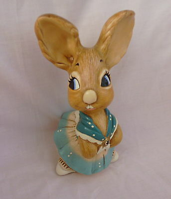 Pendelfin   Mother Rabbit Vintage Stoneware Excellent