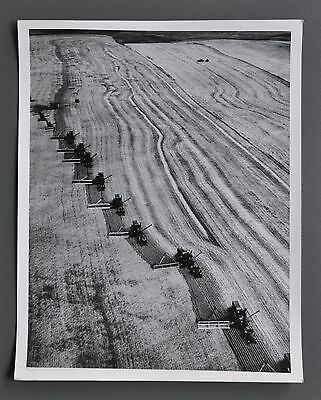 Loomis Dean 1917-2005 Silver Gelatin Photo 20x25cm Family of Man USA Farming B&W