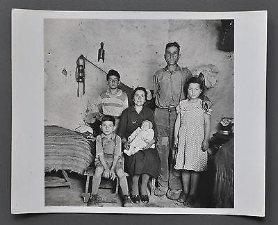 Vito Fiorenza 1927-2015 Silver Gelatin Photo 25x20 Sicily Sizilien Family of Man