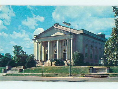 Unused Pre-1980 CHURCH SCENE Statesville North Carolina NC L3234