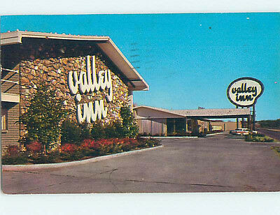 Damaged Pre-1980 VALLEY INN MOTEL Tulsa Oklahoma OK hs8977