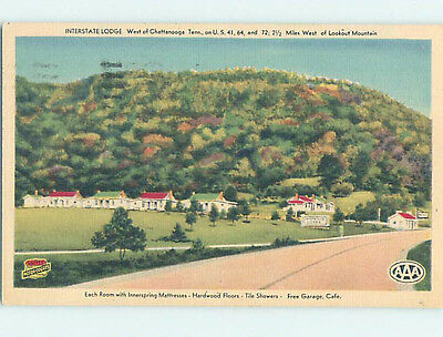 Linen LODGE SCENE Chattanooga Tennessee TN J7901