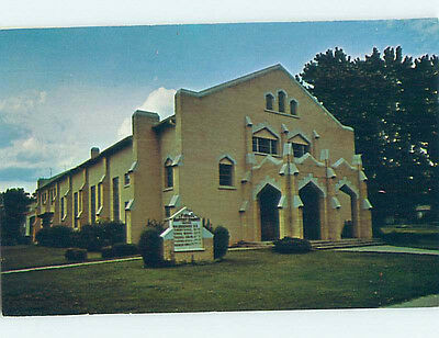 Unused Pre-1980 CHURCH SCENE Wagoner Oklahoma OK hs6940