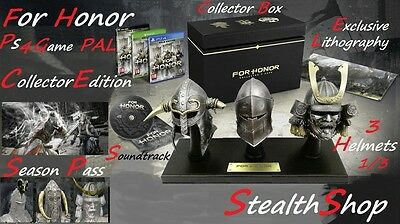 Ps4 For Honor Collector Edition - Ubisoft - PRE-ORDER - PAL Release Date 14.02