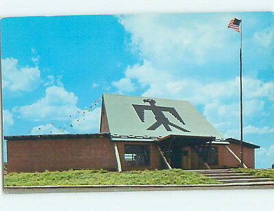 Unused Pre-1980 LODGE SCENE Anadarko Oklahoma OK J6965
