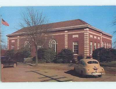Unused Pre-1980 POST OFFICE SCENE Cleveland Mississippi MS hs1013