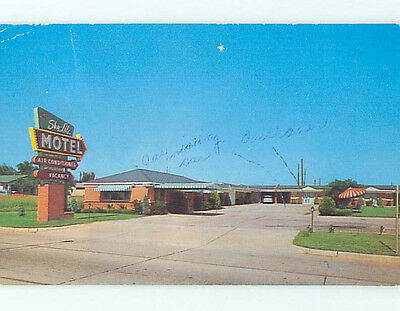 Damaged Pre-1980 SKYLIGHT MOTEL Oklahoma City Oklahoma OK M1368