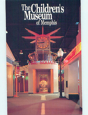 Unused Pre-1980 MUSEUM SCENE Memphis Tennessee TN hr0421
