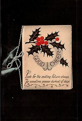 Vintage Christmas Greeting Card !