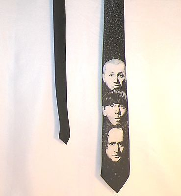 Three Stooges Neck Tie Ralph Marlin Polyester USA