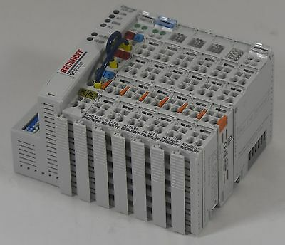 Beckhoff BC9000 Ethernet Coupler with 6 Modules