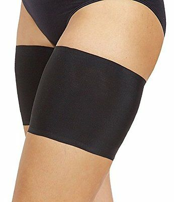 Bandelettes Elastic Anti-Chafing Thigh Bands *Prevent Thigh Chafing* - Black C