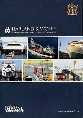 Royal Institution Of Naval Architects Tna One-Off Supplements - Rolls Harland