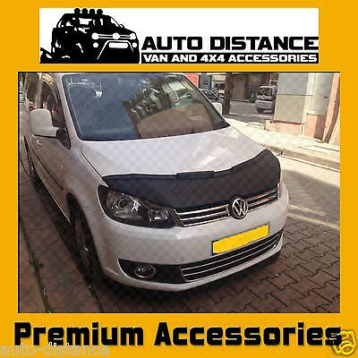 VW Caddy Facelift Bonnet Bra Wind Deflector(Half) Vinyl 2011-2015