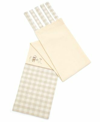 Mamas and Papas MURPHY & ME UNISEX TIE TOP LINED CURTAINS 132 x 160 cm RRP £85