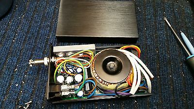 30W  4xDCV Out Linear Power Supply HIFI DC Regulated PSU - Ideal for Mixing Desk