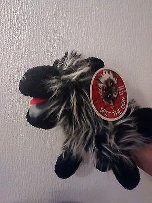RARE Spit the Dog Soft Toy Puppet Sound Bob Carolgees Ravensden with tag