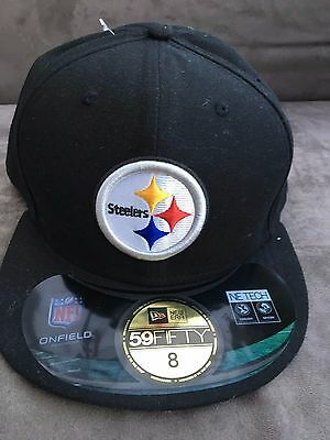 BNWT Pittsburgh Steelers New Era Cap. Bought in USA.Large size.