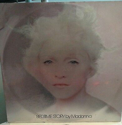 """BEDTIME STORY by MADONNA 12"""" VINYL DELETED W0285 TX ORIGINAL HOLOGRAM COVER"""