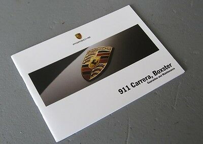 Porsche 911 997 Carrera & 987 Boxster 2005 Service Guarantee Maintenance Book