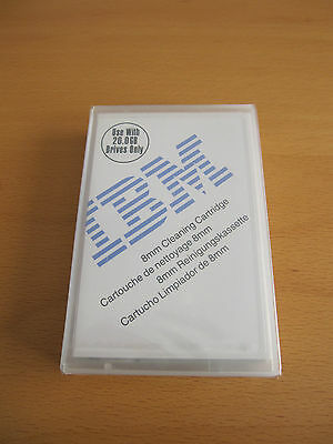 BRAND NEW ORIGINAL IBM 8 mm Cleaning Cartrigde 20 Gb Only Drives 59H2898 SEALED