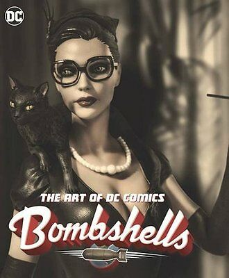 The Art of DC Comics Bombshells by Ant Lucia Hardcover Book (English) *New*