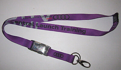 Audi Central Launch Training Schlüsselband Lanyard NEU (A3.3)