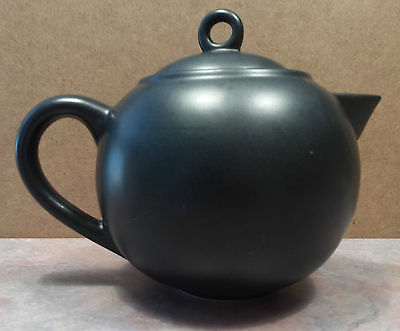 Starbucks Charcoal Grey/Black Collector 6 Cup Teapot 2011 Large