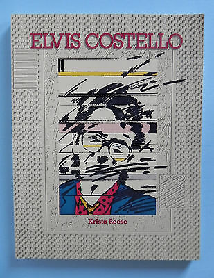 ELVIS COSTELLO Biography by Krista Reese Paperback 1981 Proteus