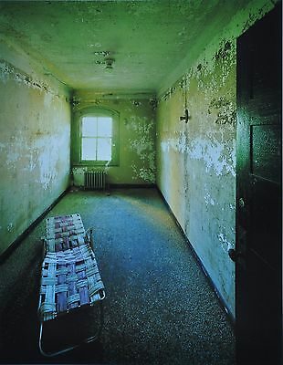 Stephen Wilkes Ellis Island #3 Photo Art Print 27x41 Lawn Chair Nurses Quarters