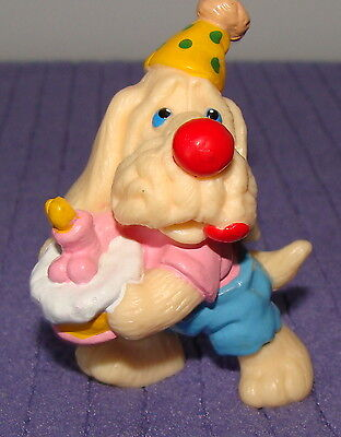 "Ganz Wrinkles Birthday Wrinkles Rubber Figure # 8 Vintage 1986   2.5"" Tall  -Cw"