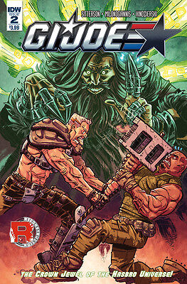 GI JOE #2 (IDW 2017 1st Print) Comic. Boarded. Free P&P