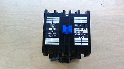 GOULD J13P30 Control Relay Type J  120 Coil            W186