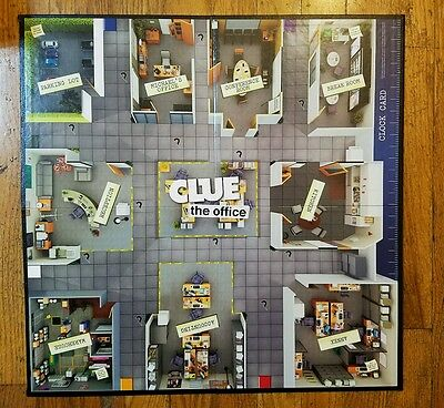 Clue The Office Edition Replacement Board