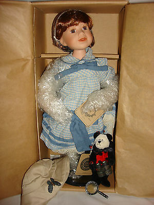 """Boyds Yesterdays' Child Doll Collection """"callie With Lady Bug"""" 16"""" Tall New"""
