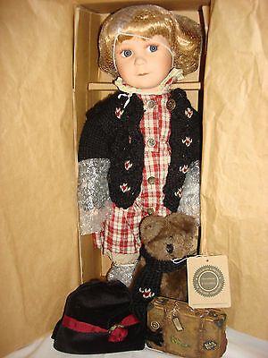 """Boyds Yesterdays' Child Doll Collection """"brittany Life's Journey"""" 16"""" New #4906"""