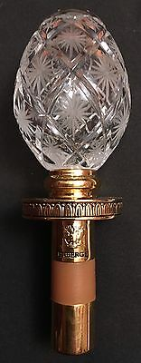 Faberge Wine Stopper With Tatiana Faberge Signature Neiman Marcus See Listing