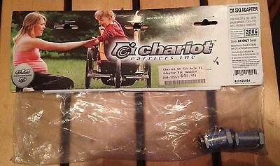 Chariot CX Ski Axle Adaptor Kit For Chariots 2006 and Newer NOS