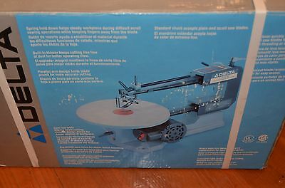 """Delta Woodworking 16"""" Speed Scroll Saw Model 40-530 In Box Not Variable Speed"""