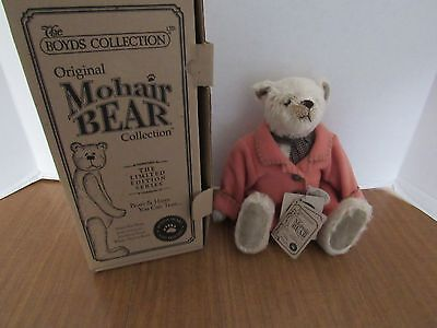 "Boyd's Bear Pat Murphy Design Mohair 12"" Maris  G. Pattington NIB"