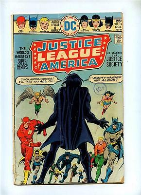 Justice League of America #123 - DC 1975 - GD - JSA X-Over