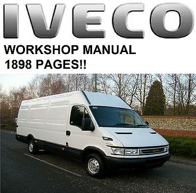 Iveco Daily Workshop Manual 1898 pages