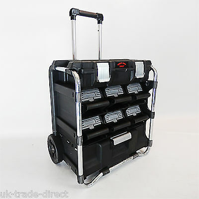 D Pro Tools Multi Drawer Mobile Roller Tool Chest Trolley Cart Storage Tool Box