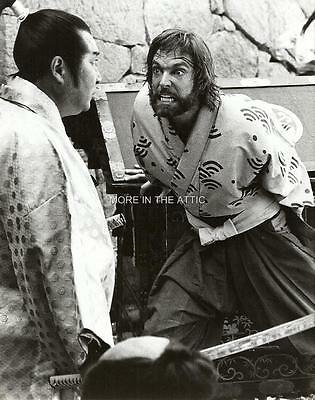 James Clavell Richard Chamberlain Orig Shogun Nbc Press Photo #2