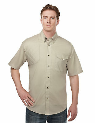 25f86b29359 Tri-Mountain Men s Button Down Collar Short Sleeve Shooting Shirt S-4XL.