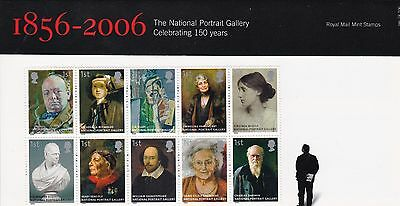 UK PP 2006 National Portrait Gallery 150 Years