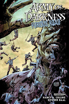 ARMY OF DARKNESS FURIOUS ROAD #4 COVER A HARD (DYNAMITE 2016 1st Print) Comic