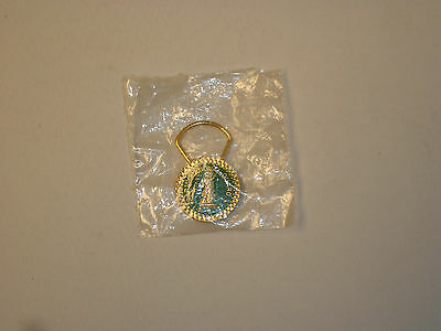 Army National Guard Gold Color Key Chain In The Original Packaging