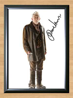 John Hurt Alien Doctor Who Signed Autographed A4 Print Photo Poster Memorabilia