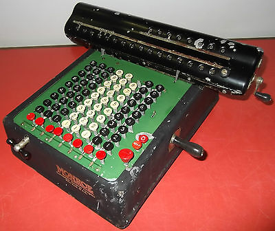 """monroe"" Calcolatrice Antica Rara U.s.a. Anni '20 - Antique & Rare Calculator"